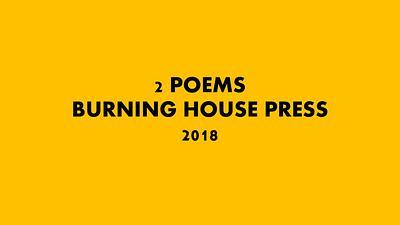 Burning House Press