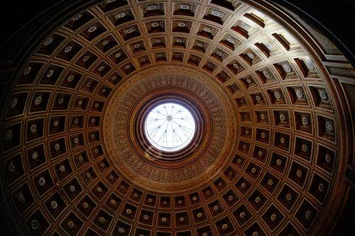 pantheon roof