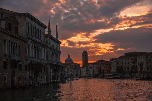 venice at sunset 2013