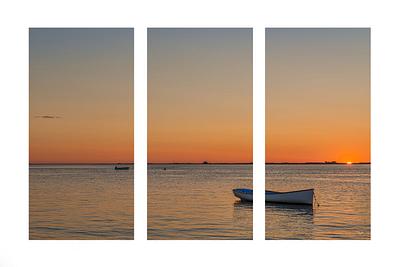 """Chatham Sunrise"" - 3 piece series"