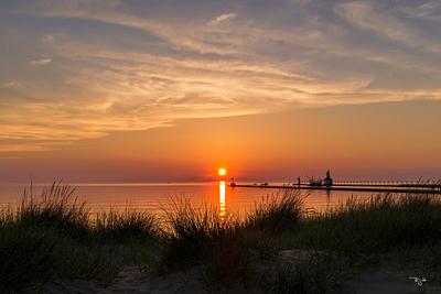 """""""Lake Michigan Sunset"""""""
