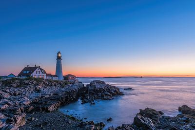 """Portland Head Light At Dawn"""