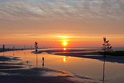 """Rock Harbor Sunset #2"""
