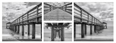 """Pier In Perspective"" - 4 piece series"