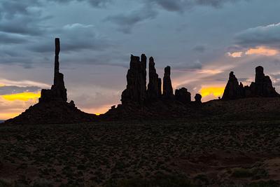 """Monument Valley Sunrise"""