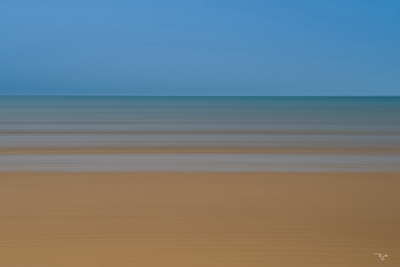"""Cape Cod Bay Abstract"""