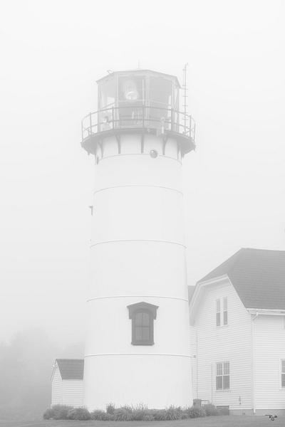 """""""Chatham Light In Fog"""""""
