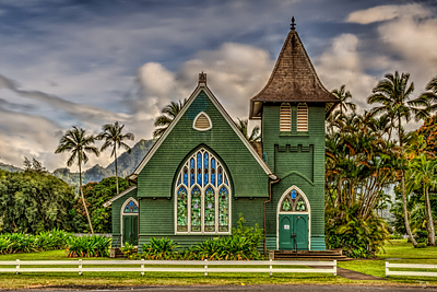 """Hanalei Church"""