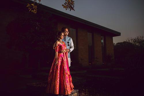 Destination wedding photography in Taj Damdama hotel by top wedding photographers team in India