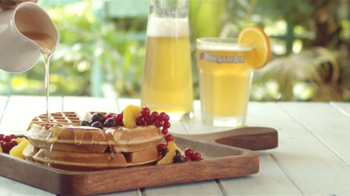 Hoegaarden Food Reel