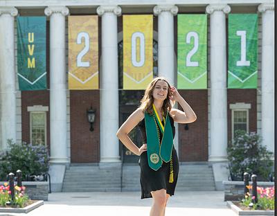 Holly - Graduation photos - University of Vermont
