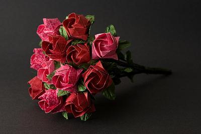 2008-05-10 Origami Roses
