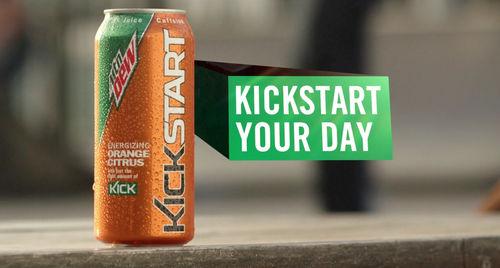 Mountain Dew Kickstart - Wrestler :30