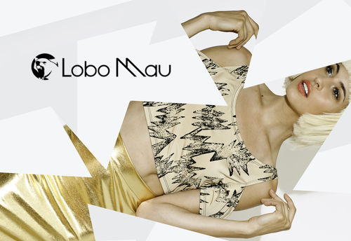 Lobo Mau SS14 -- Photographer - Ross Ericsson, Photo Art Director and Stylist - Shawna Ferguson, Model - Amanda Talijan, Hair - Brent Ericsson, Makeup - Laura Gallindo