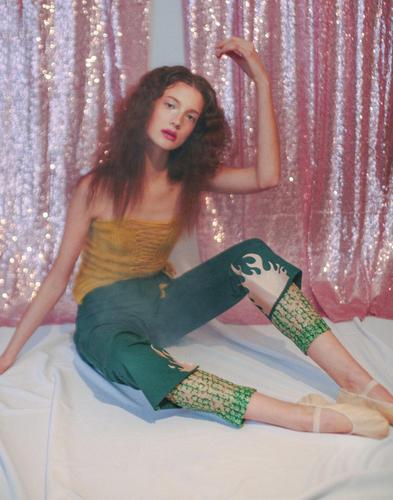 """Just Like Honey"" for Pressure Paris - Style and Direction - Shawna Ferguson, Photographer Savanna Ruedy, Model - Regan Garret, Hair - Rebekah Calo , Makeup - Mark de los Reyes"