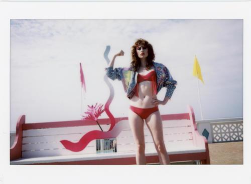 """HUNGER - """"I am the Warrior"""" -- Photographer: Franey Miller --  Stylist: Shawna Ferguson -- Models: Thom Ferguson & Allison Ponthier -- Makeup: Tony Tulve -- Set and Floral Design: Sophie Parker"""