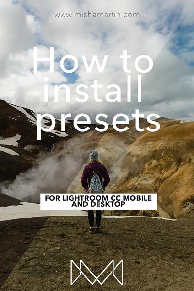 How to install presets (mobile and desktop)