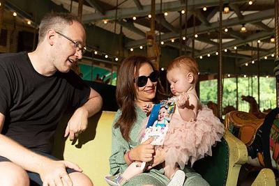 Erica, Joel, & Olivia