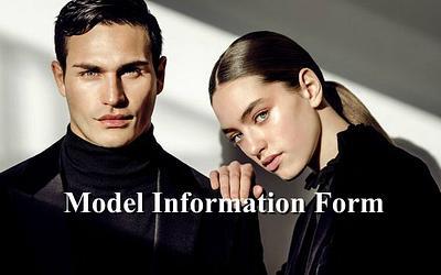 Model Information Form