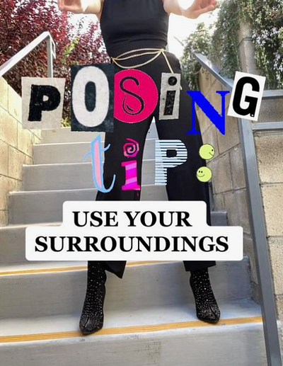 How To Pose for On-Site Location