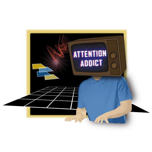 Attention Addict Listen Link