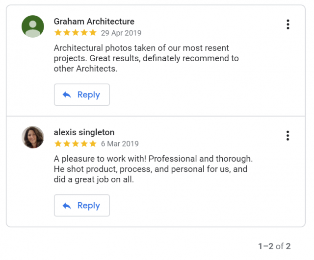 Click to see our reviews on Google