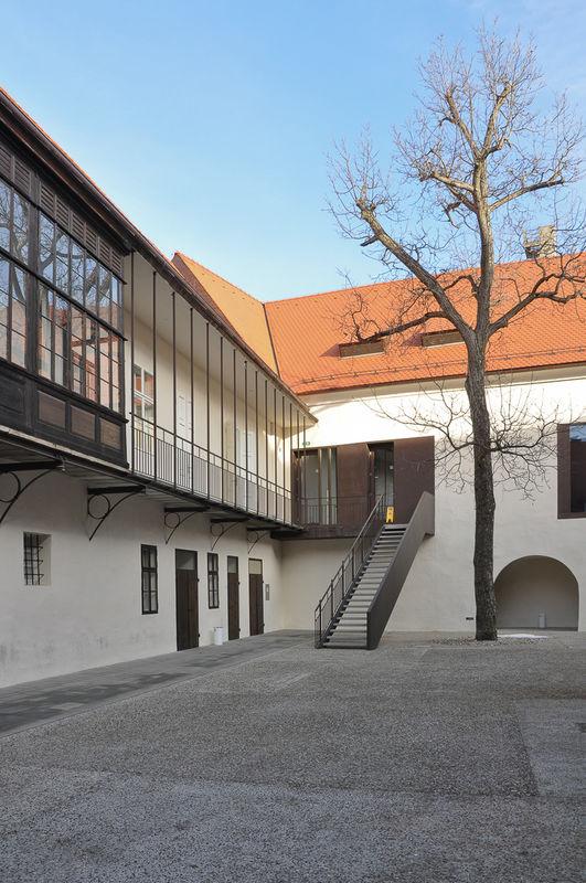 Vetrinjski dvor Mansion, Maribor . reconstraction for culture center