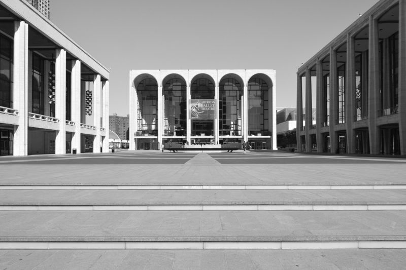 Lincoln Center for the Performing Art, NYC . cultural complex