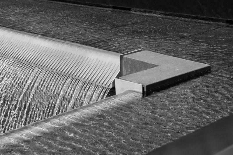 National WTC Memorial, NYC . memorial park
