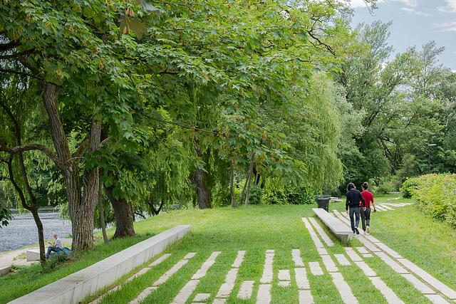 City Park Muste . Ljubljana