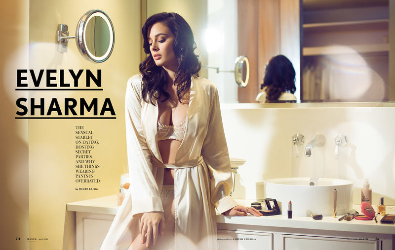 maxim - evelyn sharma
