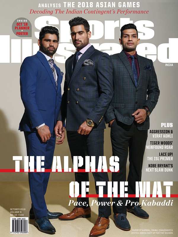 sports illustrated - the alphas of the mat