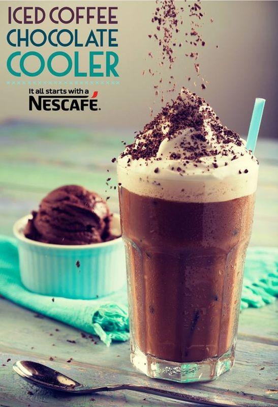 nescafe cold coffee