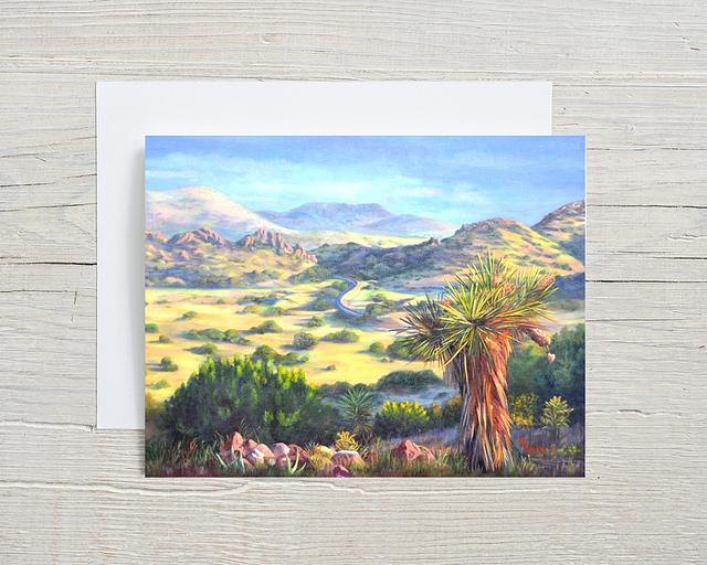 """""""After the Summer Rain"""" card by Shelly Rogers #800001"""