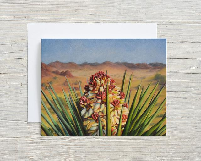 """""""Yucca Perspective"""" card by Shelly Rogers #800001"""