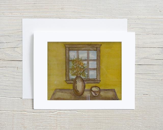 """Autumn Light"" card by Charlotte Senneff #800002"