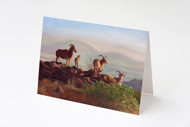 """""""Dusty Dawn"""" card by Shelly Rogers #800001"""