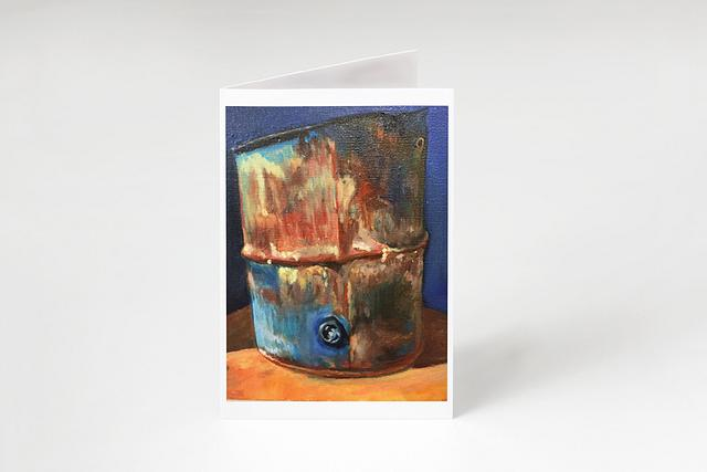 """""""Faded Colors"""" card by Patsy Culver #800003"""
