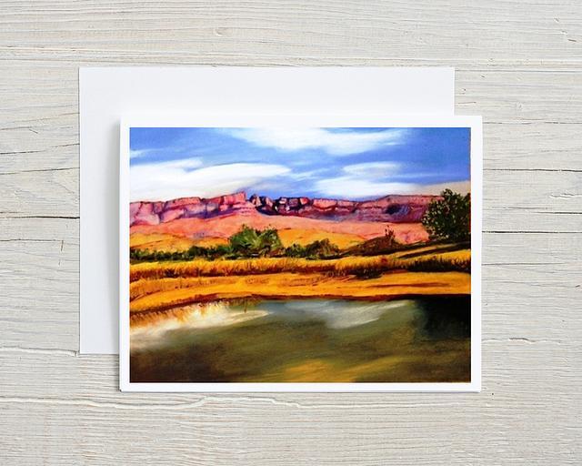 """""""Del Carmen Glow"""" card by Patsy Culver #800003"""