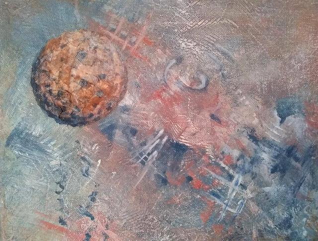 """Textured Nebulae""  original art by Mary Diesel #800025"