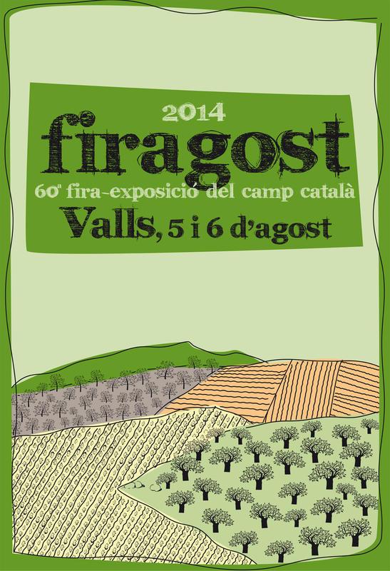 """Cartell presentat a concurs del """"Firagost 2014"""""""