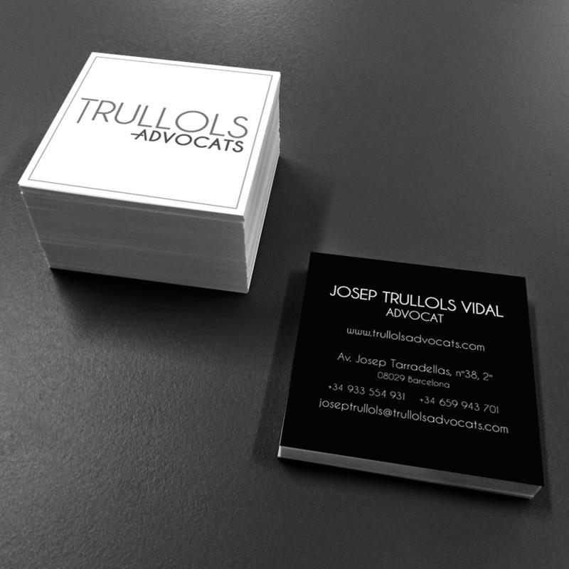 Visit Card Trullols advocats