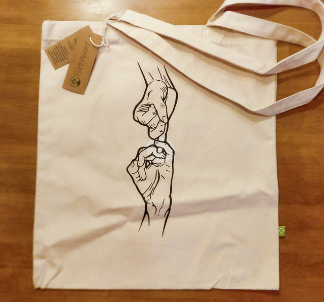 Promise to Help Each Other Tote Bag