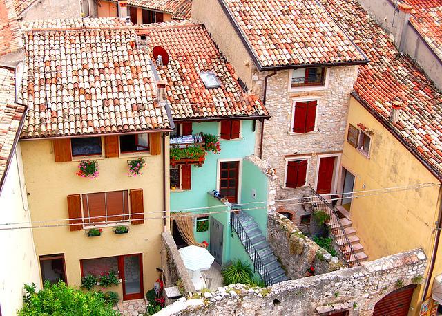 Courtyard - Lake Garda
