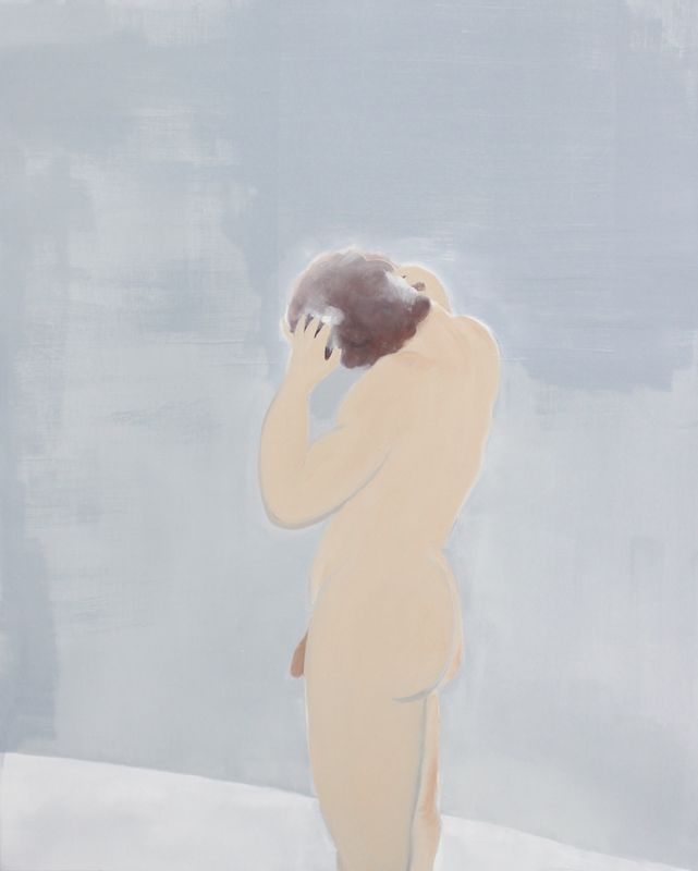 Shower, 2016, oil on canvas, 122 x 152 cm