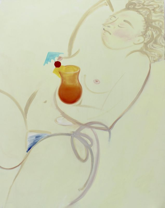 Cocktail, 2016, oil on canvas, 122 x 152 cm