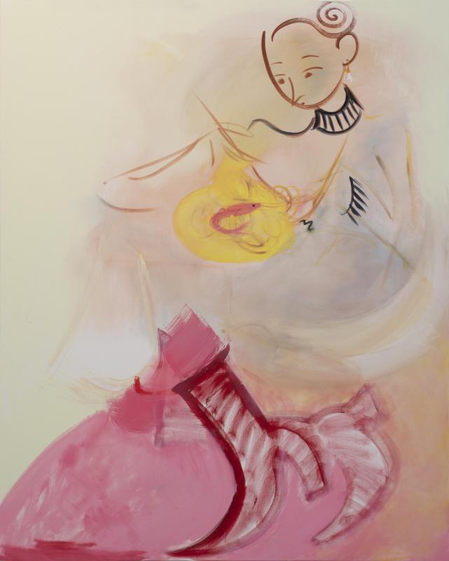 Prawn, 2017, 152 x 122 cm, oil on canvas