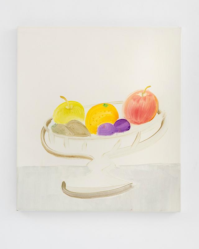 Fruit, 2017, oil on canvas, 50 x 50 cm