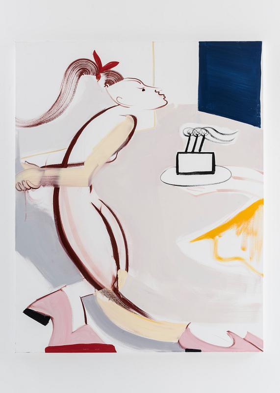 Birthday, 2017, oil on canvas, 152 x 122 cm