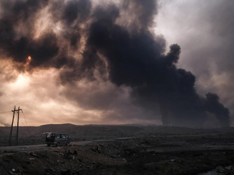 Mosul: Trapped Under Fire And Memories